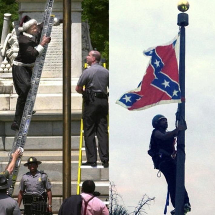 "Before Bree Newsome there was Emmett Eddy Jr., known as ""the Rev. E. Slave"". 