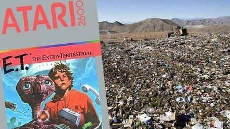 Film company to investigate the Atari 2600 ET landfill urban legend | Games World | Scoop.it