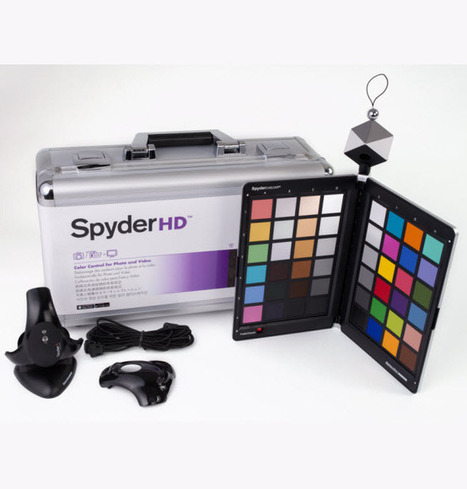 Introducing Datacolor SpyderHD - Premiere Color Calibration Suite | HDSLR | Scoop.it