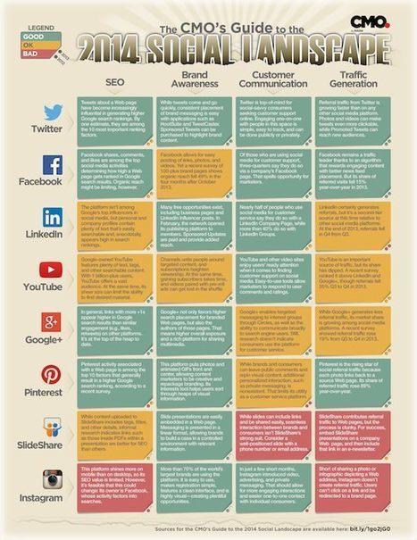 Le choix des plateformes sociales dépend de vos objectifs et contenus - MediasSociaux.fr | Agence Profileo : 100% e-commerce Prestashop | Scoop.it