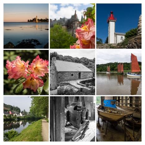 balade photo en Finistère, Bretagne et...: articles de juin 2016 #phare #moulin #fleur etc... | photo en Bretagne - Finistère | Scoop.it