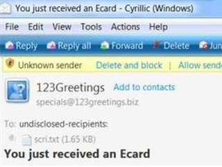 Scammers target your inbox during the holidays - note electornic greeting cards in list | enjoy yourself | Scoop.it