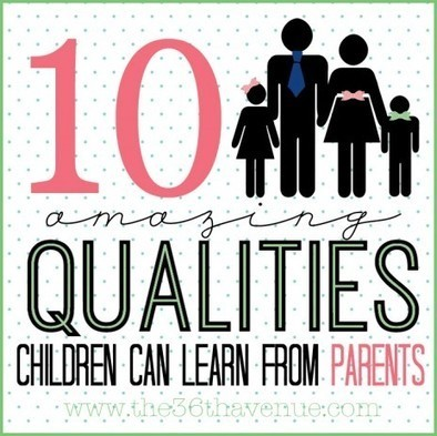 The 36th AVENUE | 10 Things Children Learn From Parents | Children | Scoop.it