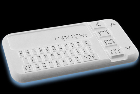 [Discapacitados visuales] India desarrolla el primer smartphone Braille | Web-On! Curiosidades | Scoop.it