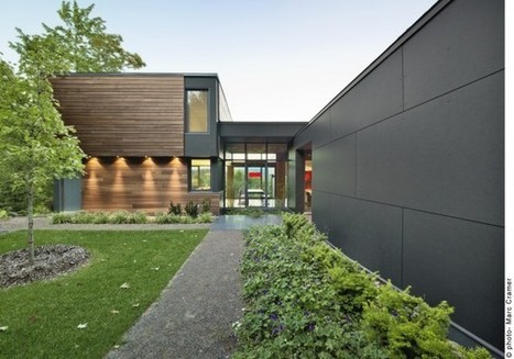 Efficient, Contextual and Connected to the Environment: the T House in Quebec, Canada | sustainable architecture | Scoop.it