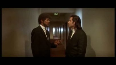 Pulp Fiction / Massage de pieds (foot massage) Samuel L Jackson & John Travolta