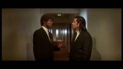 Pulp Fiction / Massage de pieds (foot massage) Samuel L Jackson & John Travolta
