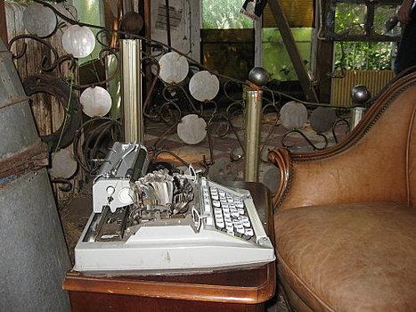 la cabane de l'écrivain, dans les jardins de Wesserling   ALIA - Atelier littéraire audiovisuel   Scoop.it