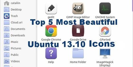 Best Ubuntu 13.10 Icons. Top 5 Most Beautiful and Clean Icons! | Ubuntu | Scoop.it
