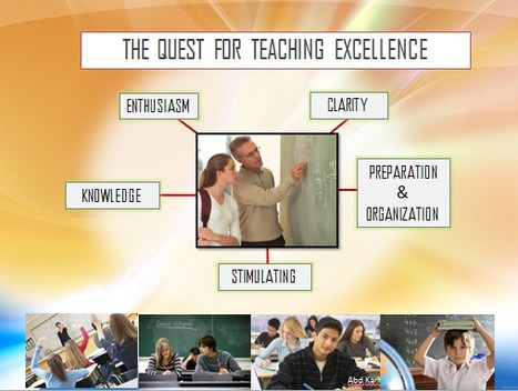 One Stop Learning: The Quest for Teaching Excellence | One Stop Learning Blog | Scoop.it