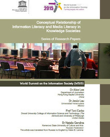 Relación conceptual de la alfabetización informacional y la ... | Publicaciones de referéncia sobre Competencia informacional. | Scoop.it