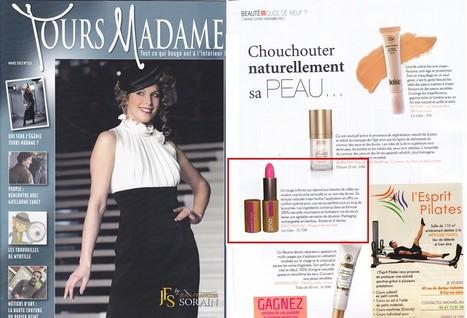 Tours Madame Mars  - Chouchouter naturellement sa peau...   Beauty Push, bureau de presse   Scoop.it