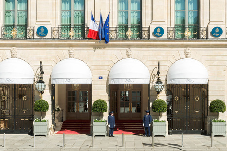 """Hôtels de légende : Le Ritz a rouvert ses portes   Office de Tourisme """"Roissy, Clé de France""""   Scoop.it"""