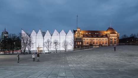 Robert Konieczny + KWK Promes' National Museum in Szczecin Named WORLD Building of the Year 2016 | The Architecture of the City | Scoop.it