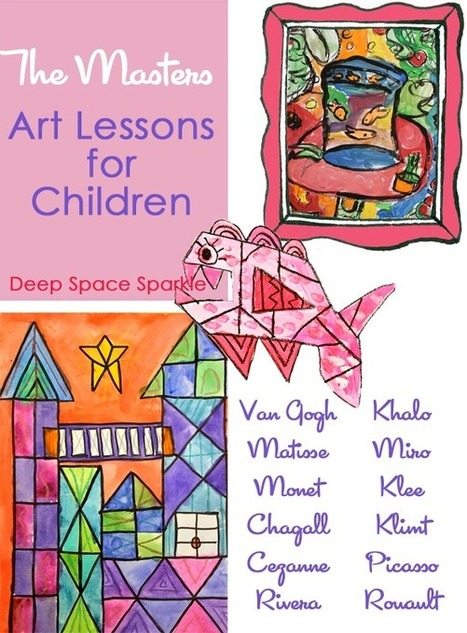 Thirty art lessons that teach the Masters | Cariboo moms | Scoop.it