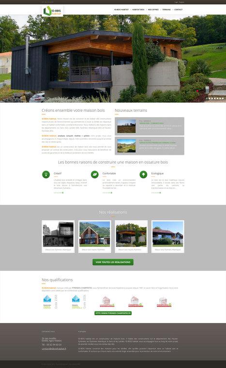 Site internet drupal pour ID BOIS HABITAT | Création sites internet Drupal & Magento made in Gers - Toulouse | Scoop.it