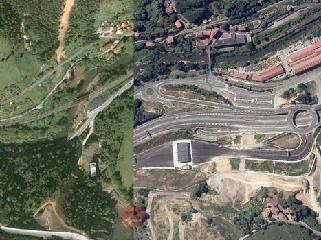 Espagne: la folie immobilière vue de l'espace - Rue89   Remote Sensing   Scoop.it