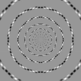 El espejo lúdico: Los círculos concéntricos de Kitaoka | Matifutbol | Scoop.it