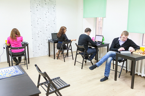 Le co-working : une nouvelle manière de travailler qui a de l'avenir | Blog RH BearingPoint | Innovative workplace solutions | Scoop.it