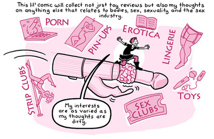 Erika Moen Launches Sex Toy Review Comic » Comics Worth Reading | adult sex toys | Scoop.it