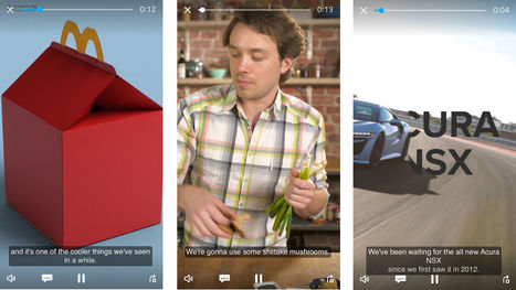 Snapchat Discover's caption button makes videos audio-agnostic | Digital Marketing Strategy | Scoop.it