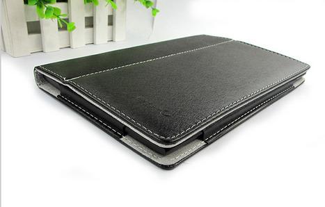 Pipo T9 - Housse cuir noir | Tablettes tactiles | Scoop.it