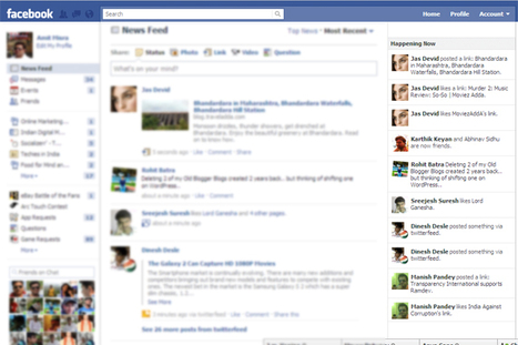 Facebook s'apprête à lancer Happening Now | mycommunitymanager.fr | Social Media Curation par Mon Habitat Web | Scoop.it
