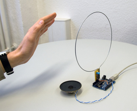 Arduino-based theremin | Arduino, Processing | Scoop.it
