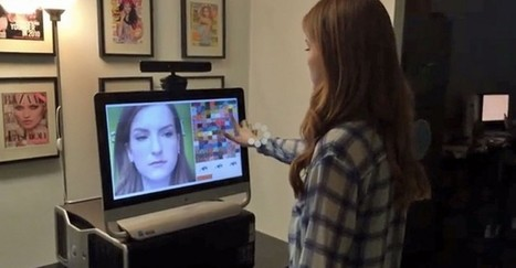 3D Augmented Reality Makeup Mirror unveiled at CES 2014 | Augmented Reality Trends | Augmented Reality | Scoop.it