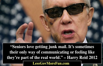 Harry Reid Accident with Exercise Equipment a Cover for Corruption Involving Mafia and Robert Menendez Indictment | Less Government More Fun | Scoop.it