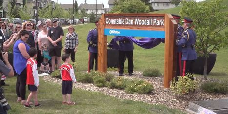 Edmonton Honours Slain Police Officer With Park Dedication | Family-Centred Care Practice | Scoop.it
