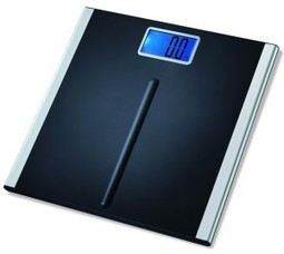 """EatSmart Precision Premium Digital Bathroom Scale with 3.5″ LCD and """"Step-On"""" Technology 