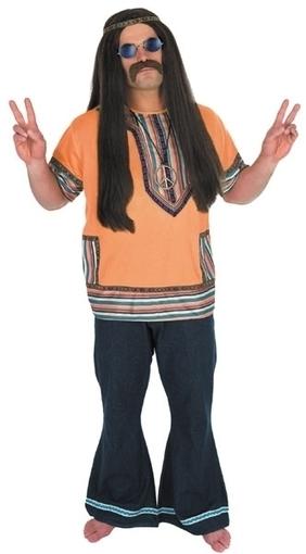 Mens 1960's / 70's Hippie Shirt Fancy Dress Outfit   Fancy Dress Ideas   Scoop.it