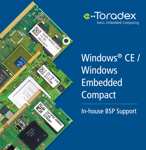 Windows Embedded Compact BSP Support for Embedded Systems | Toradex Computer Modules | Scoop.it
