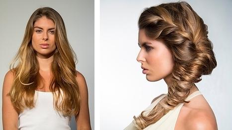De moderne haarvlecht | kapsel trends | Scoop.it