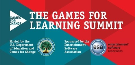 Watch the Games for Learning Summit on Livestream | Games for Change | Gamificación y serious games en educación | Scoop.it