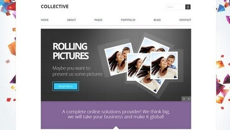 Collective Multi-Purpose WordPress Theme | Free & Premium WordPress Themes | Scoop.it