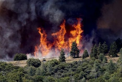 Wind-whipped fire burns near Yosemite | Sustain Our Earth | Scoop.it