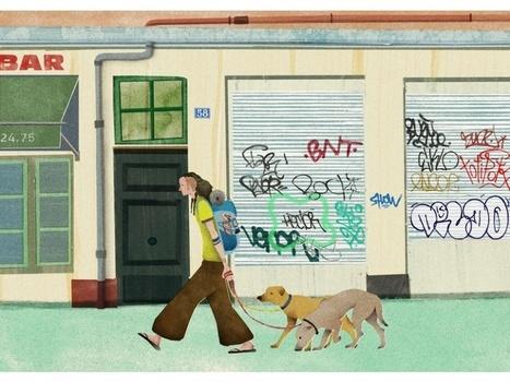 Diaporama#: une Japonaise dessine sa vision de Paris et des Français | Remue-méninges FLE | Scoop.it