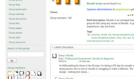 Using Moodle: Moodle as a MOOC platform | MOOC in Moodle | Scoop.it