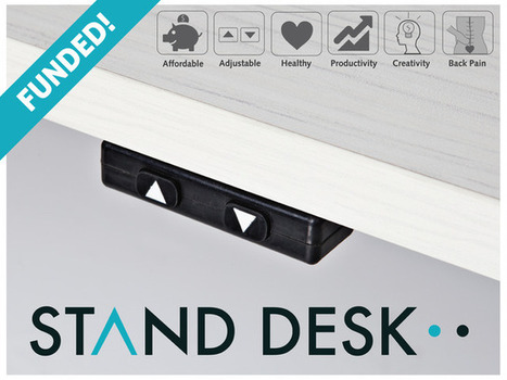 The most affordable, automatic sit-to-stand desk. | Sit to Stand  desk | Scoop.it