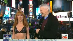 Kathy Griffin Goes Nearly Nude During CNN's New Year's Eve Show (Video) - Hollywood Reporter | Nude | Scoop.it