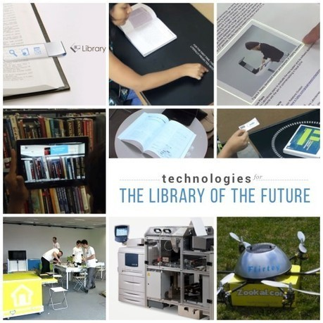 Library of the future: 8 technologies we would love to see | Techo and Geeky | Scoop.it