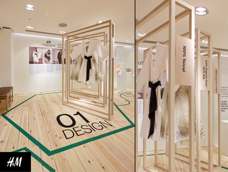 Le pop up store « responsable » de H&M | streetmarketing | Scoop.it