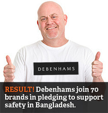 action.goingtowork.org.uk | Good news from Bangladesh: Debenhams sign safety plan | Health and Safety | Scoop.it