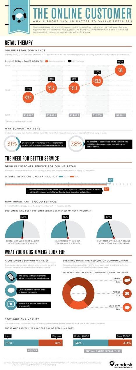 [Infographie] Pourquoi le service client sur Internet est-il si important ? | DediServices : Solution Web | Scoop.it