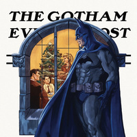 What if Norman Rockwell illustrated scenes of Gotham City life? | Comic Books | Scoop.it