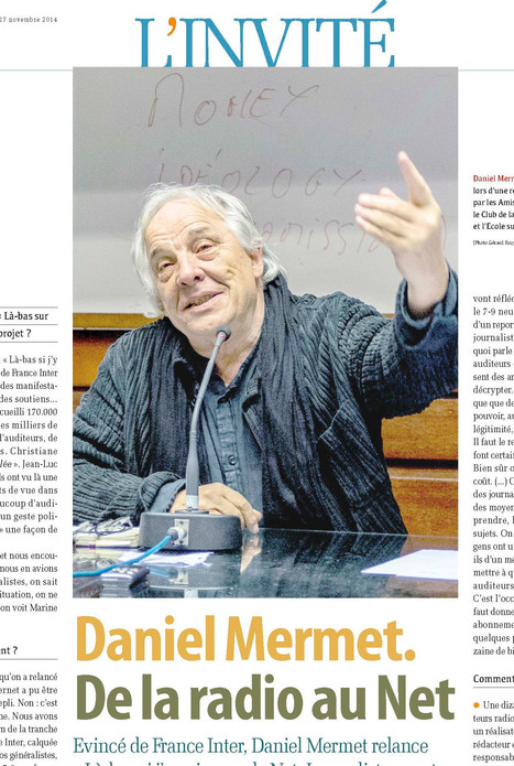 Daniel Mermet, de la radio au Net | DocPresseESJ | Scoop.it