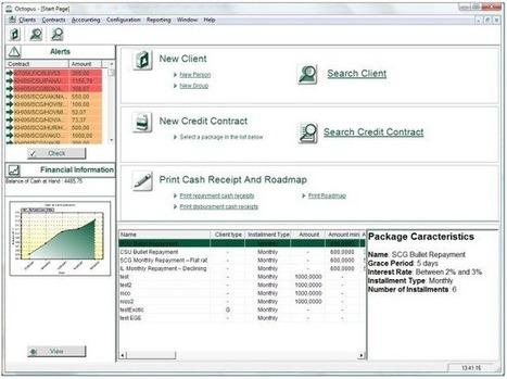 Octopus Microfinance Fr 2012 logiciel Pro licence gratuite Microfinance comptabilité et bancaire - Multi-Langage | SOFTWARES | Scoop.it