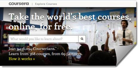 Coursera anuncia cursos gratuitos de capacitación profesional para maestros | Proyectos Educativos en la Web | Scoop.it